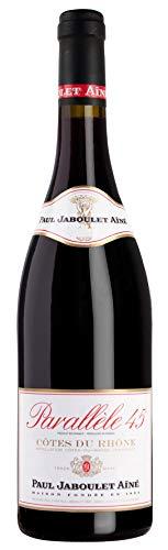 6x 0,75l - 2017er - Paul Jaboulet Aîné - Parallèle 45 - Rouge - Côtes-du-Rhône A.C. - Frankreich - Rotwein trocken