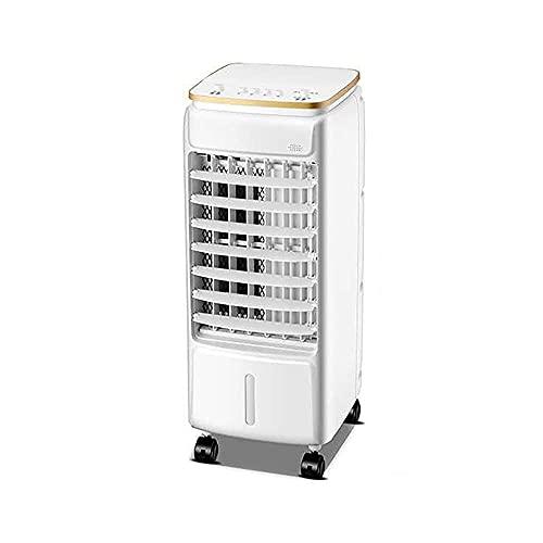 BaiJaC Ventilatori di Aria condizionata, Aria condizionata per Cellulare Portatile Mini Aria condizionata Aria condizionata Umidificatore raffreddato ad Acqua + 2 Cristalli di Ghiaccio