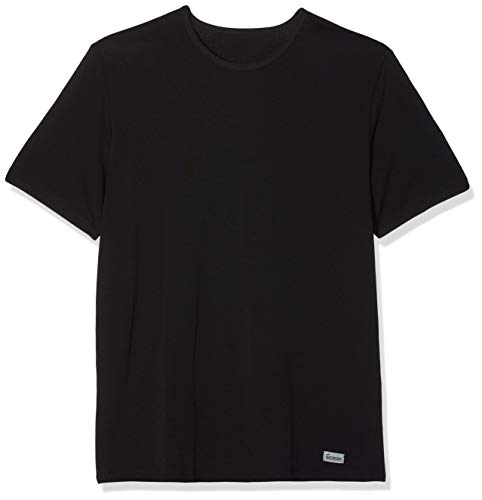 Abanderado Termal Termaltech Camiseta térmica, Negro (Negro 002), Large (Tamaño del Fabricante:52) para Hombre