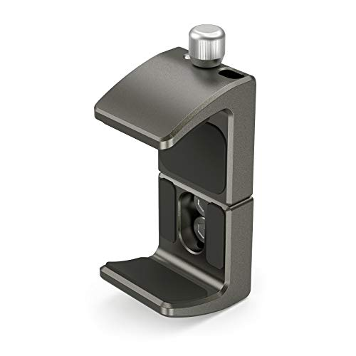 SMALLRIG Aluminio Power Bank Holder, Abrazadera de Montaje de Banco de Energía para Powerbank Portátiles con Rango de Ancho de 53mm a 81mm - 2790