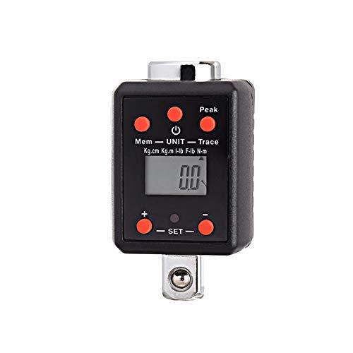 TM4-200AN Digitaler Drehmomentadapter, 1,5-1000 nm elektronischer Drehmomentschlüsseladapter | Einstellbarer Drehmomentmesser LCD-Anzeige Präziser Micro