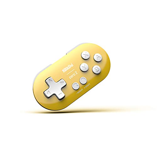 8Bitdo Zero 2 Bluetooth Gamepad(Yellow Edition) - Nintendo Switch
