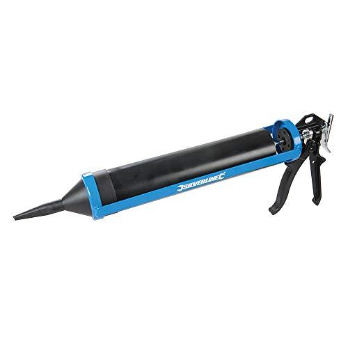 Silverline 794339 Fugenpistole mit Zubehör 540 mm Spritzenlänge