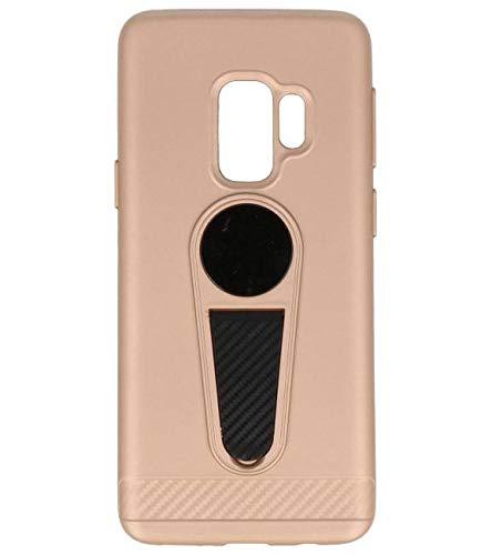 Microfoon series hoesje Samsung Galaxy S9 Goud