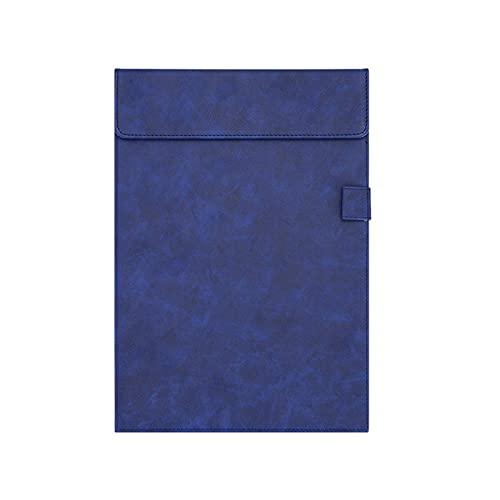 Porta-pad Lavagna Lavagna per appunti in pelle A4 e Letterized con supporto per la cartella multicolore con scrittura magnetica multicolore cartella firmata per business, office-5 packs Portablocco