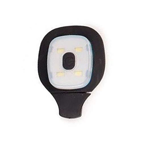 XIAOSHA Gorro Deportivo al Aire Libre Recargable con 4 LED USB, Accesorios de Gorro de Punto Neutro para Invierno, Accesorios de Entretenimiento con Pilas
