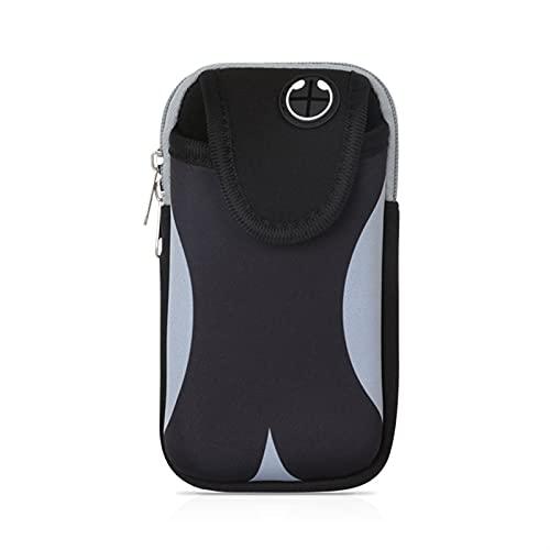 xmk2021888 Riñonera Bolso de brazo deportivo, universal para correr al aire libre Bolsa de brazo deportivo a prueba de agua para correr para correr Brazo de gimnasio para correr con la bolsa protector