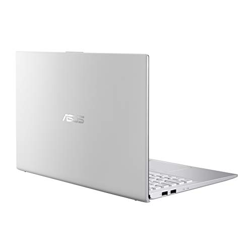 "ASUS VivoBook S512 S15 Thin and Light Laptop, 15.6"" FHD, Intel Core i7-10510U CPU, 16GB RAM, 256GB SSD + 1TB HDD, NVIDIA GeForce MX250 Graphics, FingerPrint, Windows 10 Home, S512FL-PH77, Silver-Metal"
