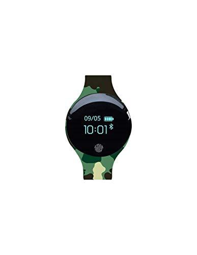RONEBERG RU8 SMARTBAND - Pulsera deportiva juvenil, color verde