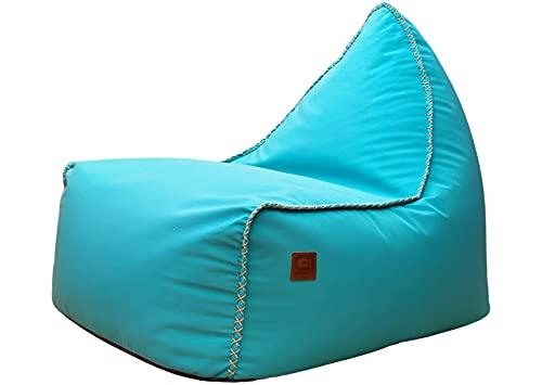 Design Sitzsack Timeout, Lounge Sessel, Bean Bag, Indoor Outdoor, Made in Germany (türkis)