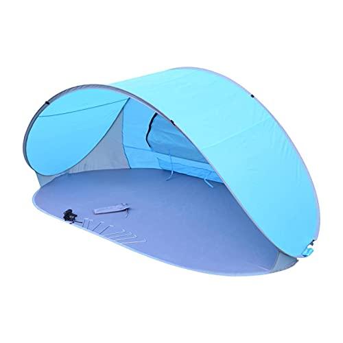 TeeTree Pop-up Strandzelt,Aufstellzelt,Strandzelt im Freien,Strandmuschel Wurfzelt 220x120x100cm mit UV Schutz,Geeignet für Camping, Strand, Ausflüge und andere Outdoor-Aktivitäten