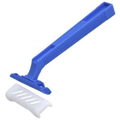 Máquina de afeitar de un solo filo, 100 pcs - maquinilla de afeitar desechables foraze sin níquel