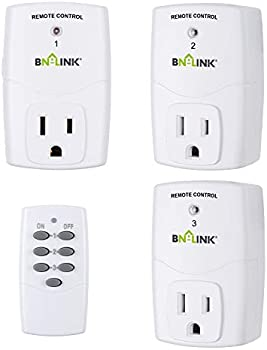 3-Pack BN-LINK Wireless Programmable Outlet