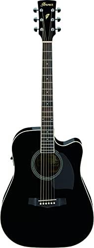 Ibanez PF15ECE-BK Guitarra electroacústica, negra