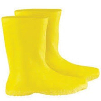 Cole-Parmer AO-86235-52 Hazmat Boot Covers, Latex, Yellow, X-Large; 1 Pair