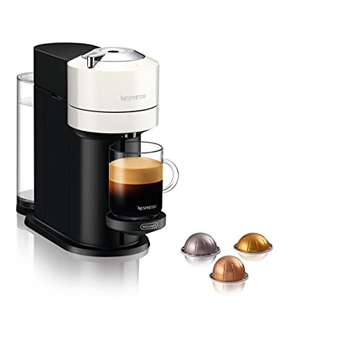 De'Longhi Nespresso Vertuo Next ENV 120.W Kaffeekapselmaschine, weiß
