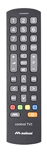 Meliconi Control TV.1 Telecomando Universale, per TV standard e per Smart TV