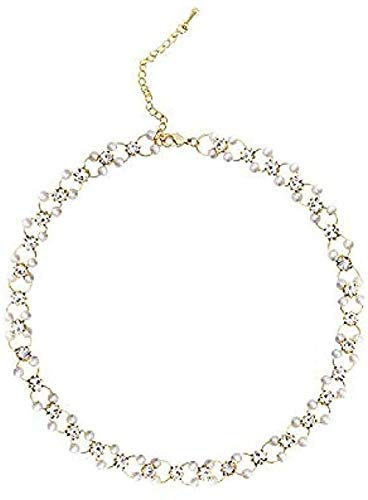 ZPPYMXGZ Co.,ltd Collar Collar Corto Mujer Llavero Cadena de Hueso Regalos