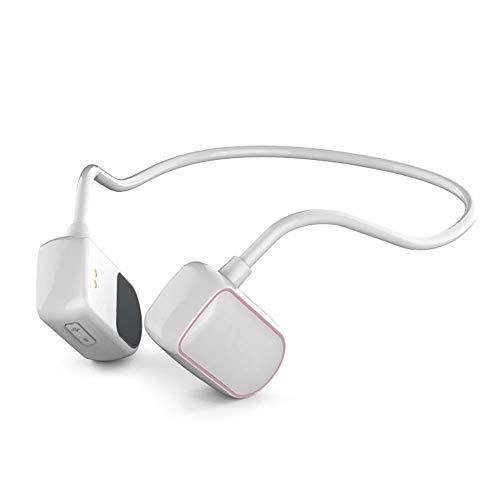 ASDFGH Bone Conduction Headphones, Draadloze Neck-Mounted Sport Headphones, Waterdichte En Sweat-Proof Stereo Koptelefoon Voor IPhone, Andorid En Andere Bluetooth Apparaten