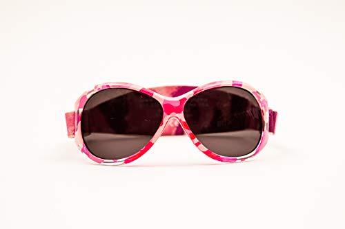 Baby Banz Baby Banz RETRO Banz Oval Baby Sonnenbrille, Rosa Diva Camo, 0-24Monate