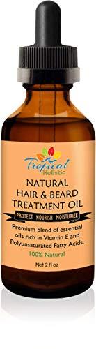 100% Natural Hair & Beard Growth Treatment Oil 2 oz