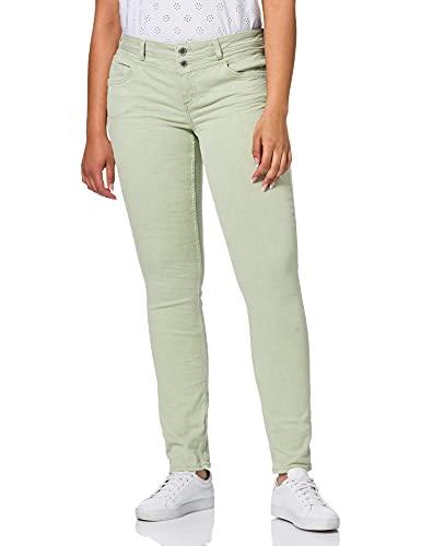 Street One Damen Crissi Jeans, Faded Green Summer wash, W29/L32