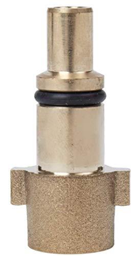 """M&M Smartek KEW Bajonett Messing-Adapter auf 1/4"""" IG für Hochdruckreiniger-Zubehör für/kompatible zu KEW Nilfisk-Alto (Hobby) C E P Kinzo Sistema Stihl"""