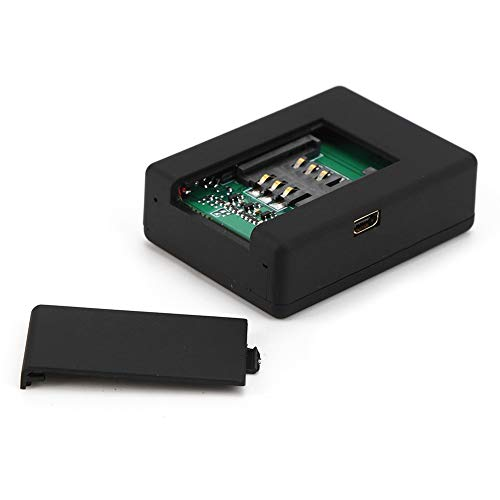 Escucha espía GSM, monitoreo de audio GSM, negro para monitores domésticos Alarmas antirrobo para automóviles(European regulations)