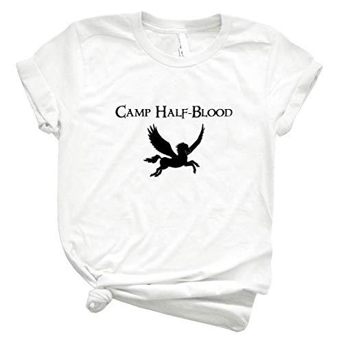 Camp Half-Blood Logo Symbol Fan Fiction Ɠεεƙ 8 - Unisex Shirt Men's Shirt Best Vintage Tee for Women Kids