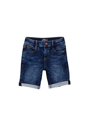 s.Oliver Jungen Regular Fit: Bermuda aus Jeans dark blue 128.SLIM