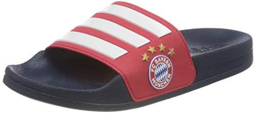 adidas Herren Adilette Shower Slide Sandal, Red/Cloud White/Collegiate Navy, 37 EU