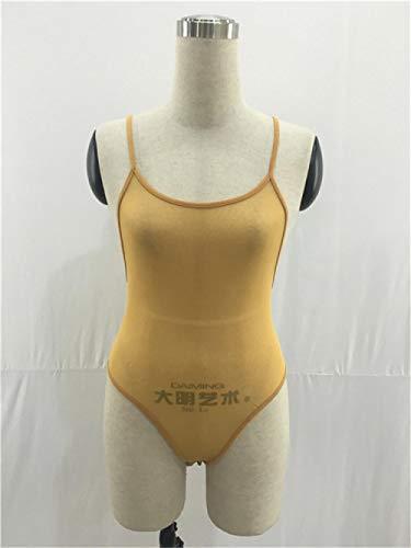 GenericBrands Traje De Bikini Mujersexy Mesh Sling Lencería Erótica Ropa Interior Erótica Irregular Pijamas De Una Pieza Ebay-Orange_XL