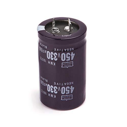 Soldador eléctrico 450 V 330 uF Condensador electrolítico de Aluminio Volumen 30 x 50 pies Duros por LIUXIA