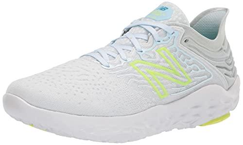 New Balance Women's Fresh Foam Beacon V3 Running Shoe, Star Glo/Bleached Lime Glo, 10.5