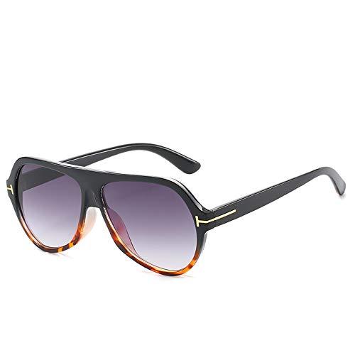NJJX Gafas De Sol Clásicas De Moda Para Hombres Y Mujeres, Gafas De Sol Con Degradado, Gafas De Sol Vintage, Gafas 04