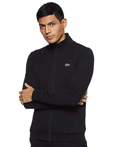Lacoste Sport Herren SH7616 Reißverschluss Jacke, Schwarz (Noir), Small (Herstellergröße: 3)