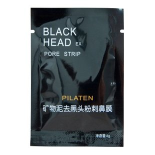 Pilaten Tearing Style Deep Cleansing Purifying Peel Off Black Head,close Pores,facial Mask Black Head Pore Strip 50pcs/lot