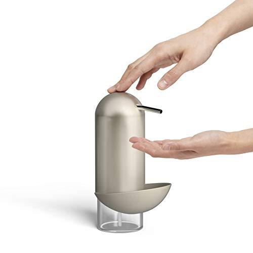 Umbra Dispensador de Jabon, Plateado, 12x10x20 cm