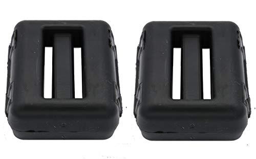 Fonderia Roma, Tauchergewicht, kunststoffbeschichtet, schwarz, 1 kg, 2 Stück