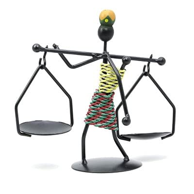 Regalo Figurines Figuras De Candelabro De Metal Hecho A Mano, Modelo En Miniatura De Hierro, Estatuilla De Arte Moderno, Adorno, Accesorios De Decoración Del Hogar, Decoración De Habitación