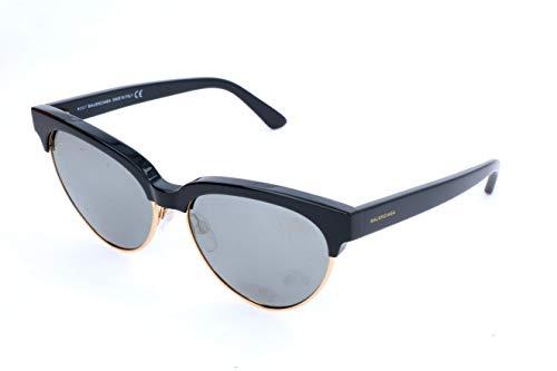 Balenciaga Balenciaga Sun BA0127 20C -57 -16 -140 Balenciaga Oval Sonnenbrille 57, Black