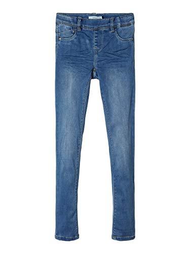 NAME IT Girl Leggings Superweiche Denim 104Medium Blue Denim