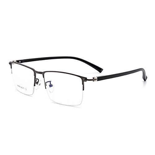 Multifokale Progressive Lesebrille Für Männer, Photochrome Übergangs-Uv400-Linse Und Presbyopia-Farbwechsel-Sonnenbrille Mit Halbrahmen- Gray||+2.00
