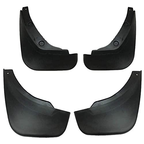 4 piezas de guardabarros de coche de plástico ABS, guardabarros delantero y trasero, protector contra salpicaduras, juego de guardabarros, protector, estilo, accesorios de coche para Mazda 2 Demi
