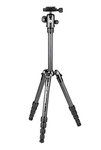 Manfrotto Element Traveller Small Aluminum 5-Section Tripod Kit with...