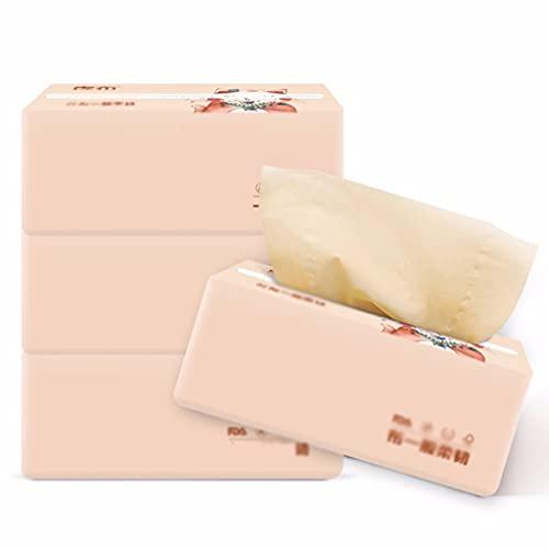 Cubierta de caja de pañuelos Toallita 30 Paquete de 3 capas 80 extraíble Toallas de papel higiénico servilletas de papel de bambú de bombeo de pulpa de papel Materiales Dispensador de estuche moderno