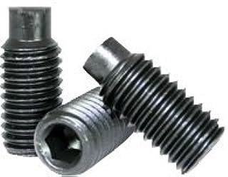 Quantity: 10 Half Coarse Thread Length: 3 1//2 inch Black Oxide Full Thread Alloy Steel Case Hardened Dog 1 Square Head Bolts Square Head Set Screw 1-8 x 3 1//2