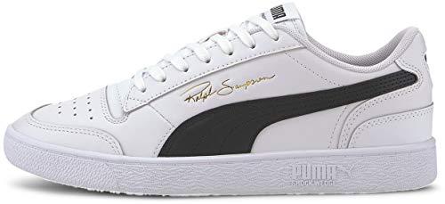 PUMA - Herren Ralph Sampson Lo Schuhe, - Puma Weiß Puma Schwarz Puma Weiß - Größe: 42 EU