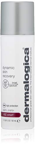DERMALOGICA Dynamic Skin Recovery SPF50 Anti Aging Face Sunscreen Lotion for Daily Use, 1.7 Fl Oz