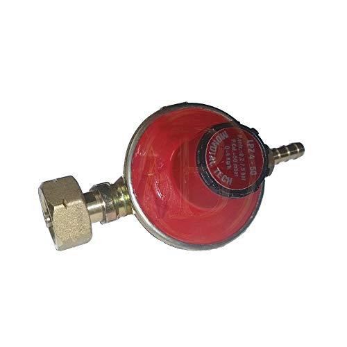 Toploo Mondial Gasdruckregler - einstellbar 20-60 mbar / 4kg/H